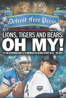 Detroit Free Press cover